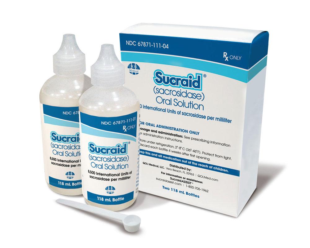Sucraid Bottles