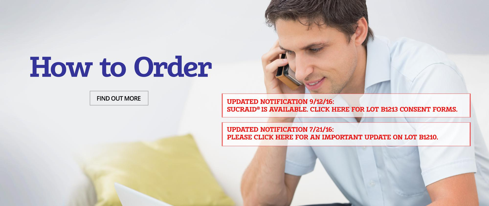 How to Order<sup> </sup>